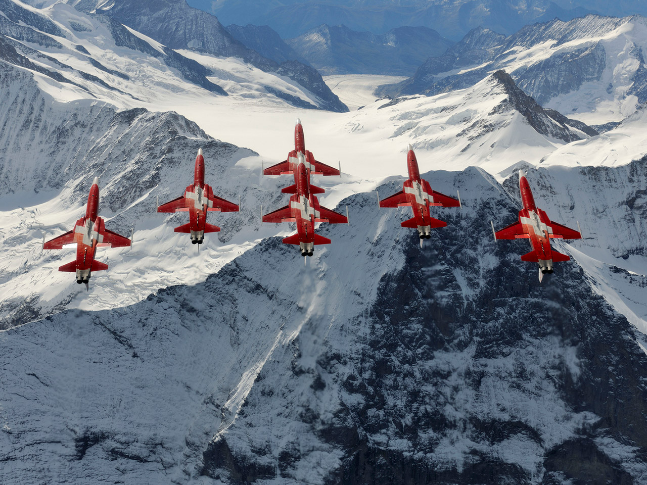 ... year. No other international show will feature both Patrouille Suisse