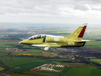 The L-39NG will be introduced during a flight over Mosnov Airport