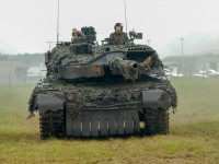 Leopard 2 tank of the German Army
