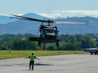 UH-60 Black Hawk of the Slovak Air Force