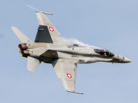 F/A-18 Hornet Solo Display, Swiss Air Force